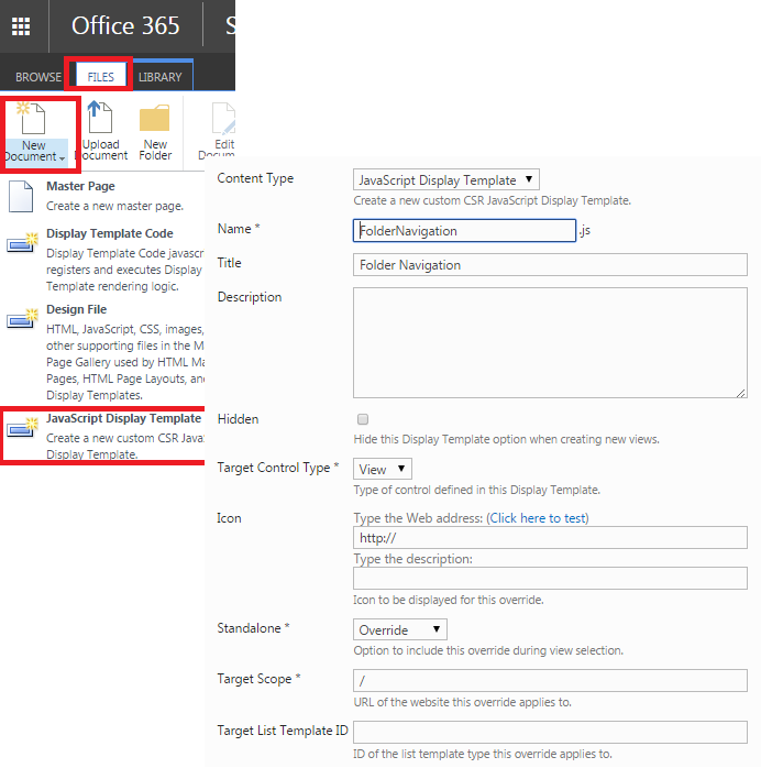 sharepoint web part page template